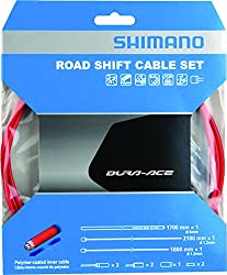 Shimano Dura-ace Ot-sp41 Polymer-coated Derailleur Cable Red, One Size