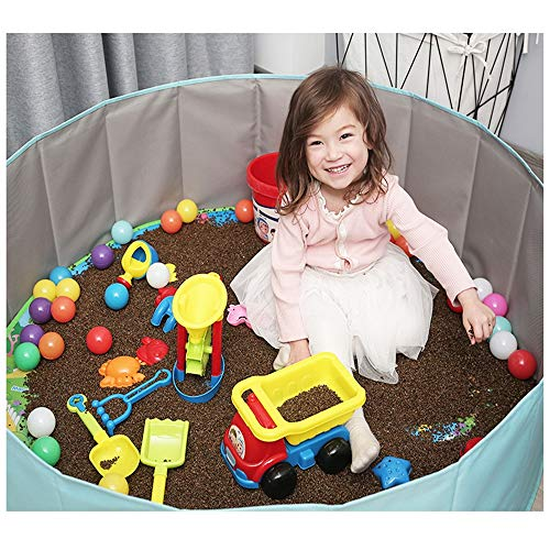 GYJ Beach Sand Toys Set Models Activity & Entertainment Guardrail Safety Fence Children Cassia Toys Marine Ball Suit Baby Play Sand Pool Tools Cloth Hourglass Home Playing by GYJ (Image #4)
