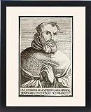 Framed Print Of St Joseph Of Cupertino