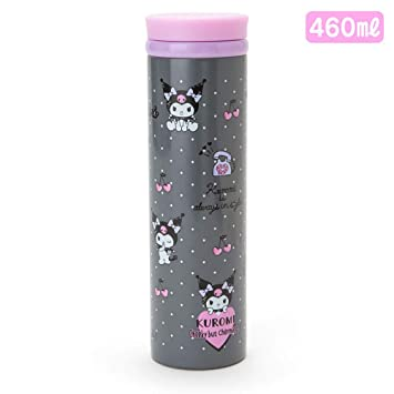 Amazon.com: Kuromi Sanrio - Termo (acero inoxidable, 460 ml ...