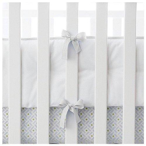 Serena Lily Baby - Serena & Lily Nursery Basics Crib Bumper- White