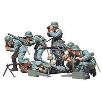 1/35 tropas alemanas de ametralladoras