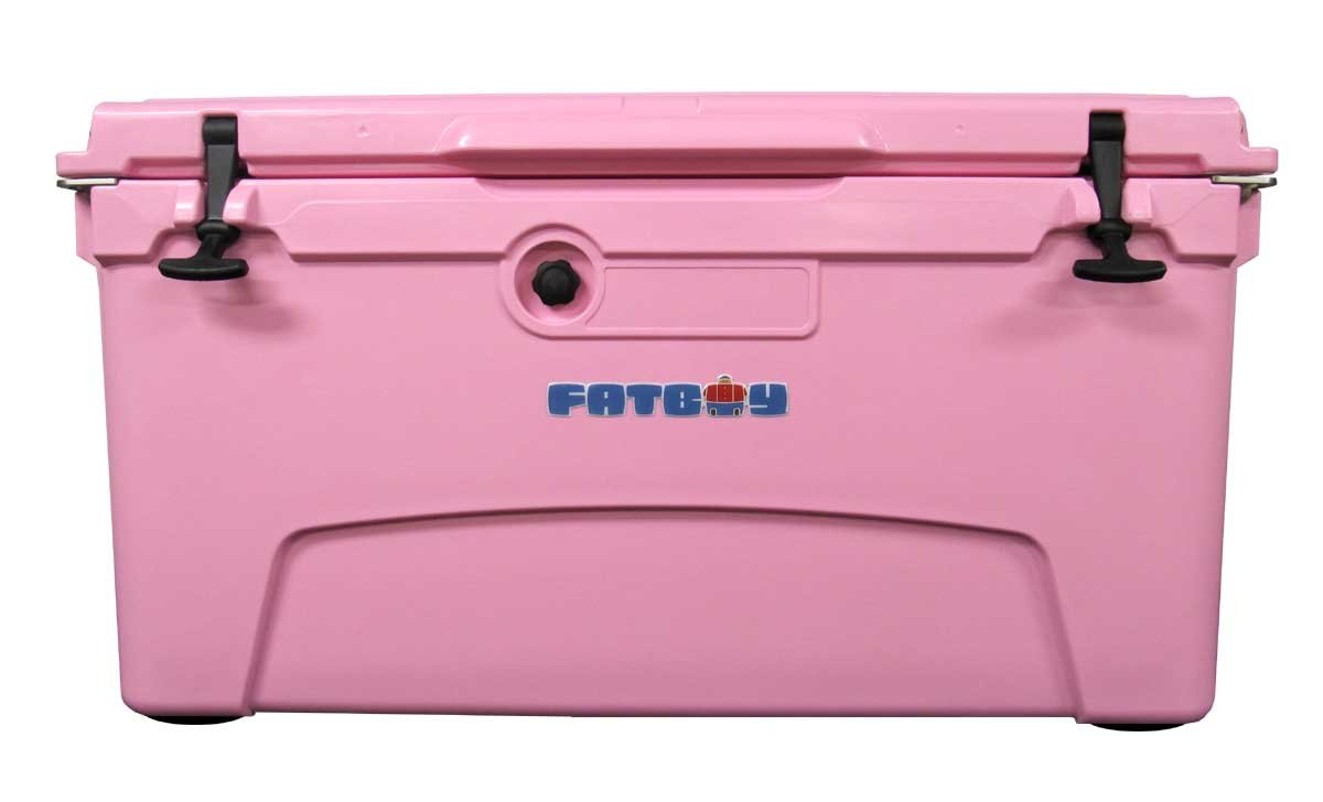 Fatboy 75QT Rotomolded Chest Ice Box Cooler Pink by Fatboy