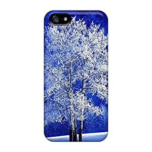 New Fashionable Dreaming Your Dream Cover Case Specially Made For Iphone 5C(frosted Aspen Tree)