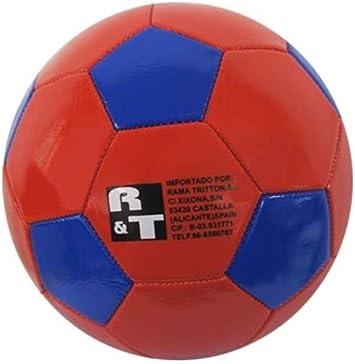 Rama Triton Balon Futbol Rojo Y Azul Diametro 23cm: Amazon.es: Juguetes y juegos