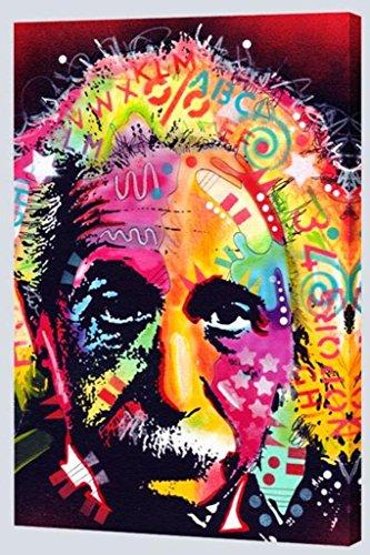 Einstein by Dean Russo 24x36 Gallery Canvas Art Print (stretched)