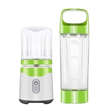 MMM Taza de jugo portátil eléctrica Mini exprimidor Mini mezclador automático de frutas Máquina de cocción multifuncional Material de grado alimenticio ...