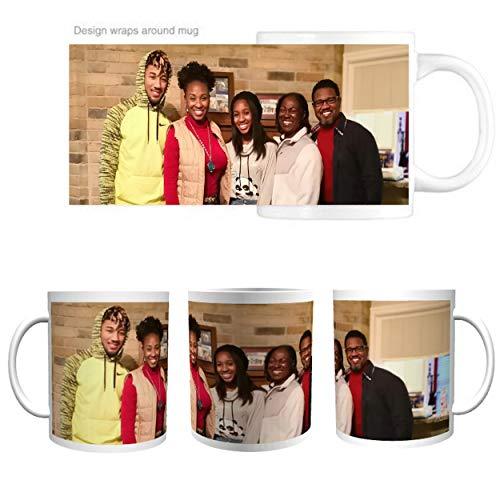 - Marvelous Printing Personalized Mug Wrap Around (15oz) - Use a Photo or Logo Image to Create a Unique Custom Mug