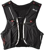 Salomon Unisex S-Lab Sense Ultra 8 Set Backpack, Black, Racing Red, XS
