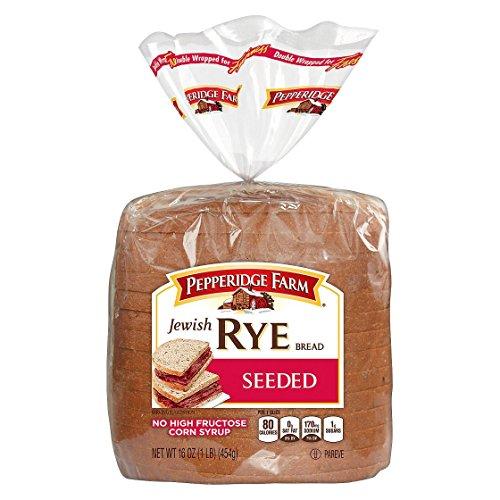 Pepperidge Farm Bread - Jewish Rye - Jewish Bread