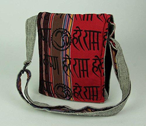 Fold Cotton Grey Cotton Boho Rhino Womens Bags Cross Crossbody Body Bag Small Over Tribal qUR0vq