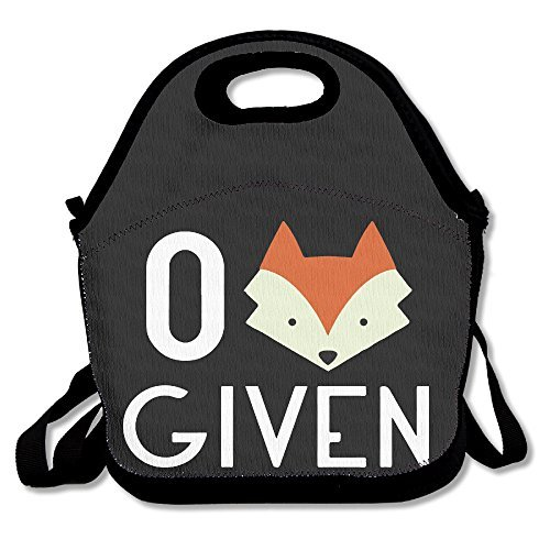 HOT TOPICS Zero Fox Given Lunch Bags Lunch Box Tote Bag With Strap
