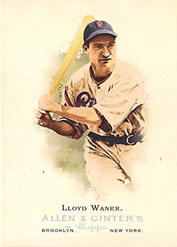 Lloyd Waner Baseball Card Pittsburgh Pirates Hall Of Fame