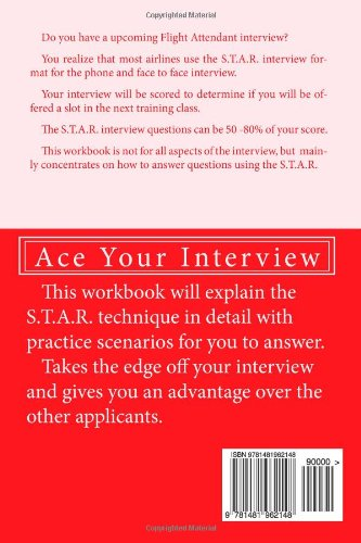 Help I Have A Flight Attendant Interview: Work Book For Your