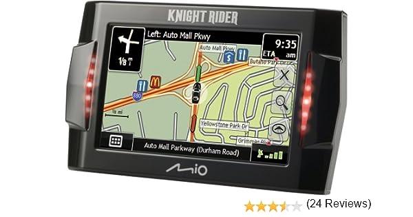 Amazon Com Mio Knight Rider   Inch Portable Gps Navigator Cell Phones Accessories