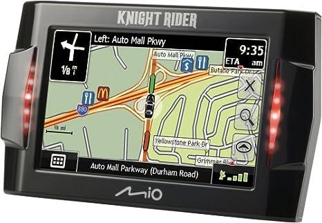 Mio Knight Rider 4 3-Inch Portable GPS Navigator