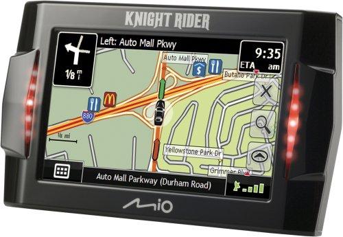 Mio Knight Rider   Inch Portable Gps Navigator