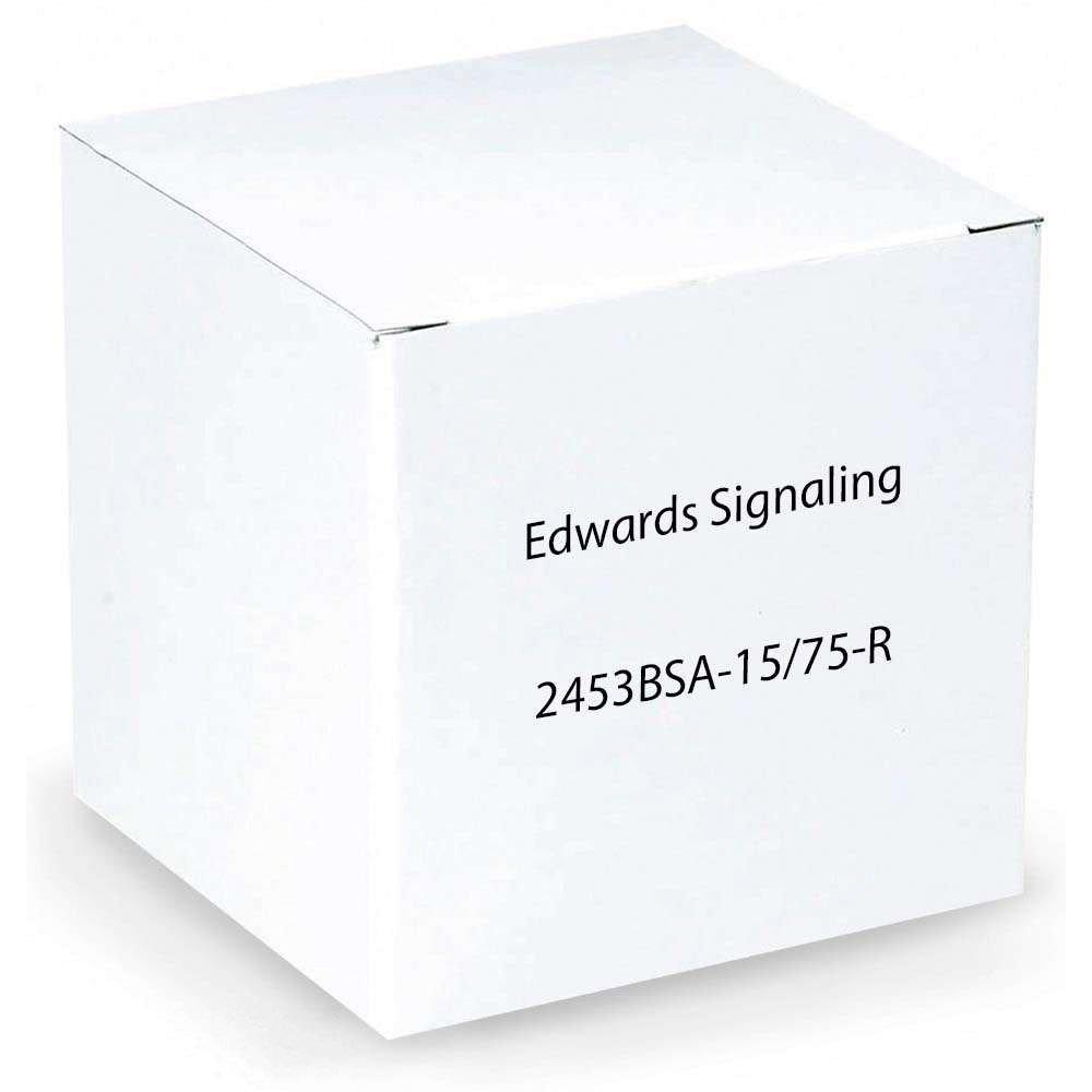 Edwards Signaling 2453BSA-15/75-R BELL STROBE ADAPTOR PLATE