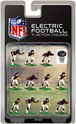 Houston Texans Dark Uniform NFL Action Figure Set