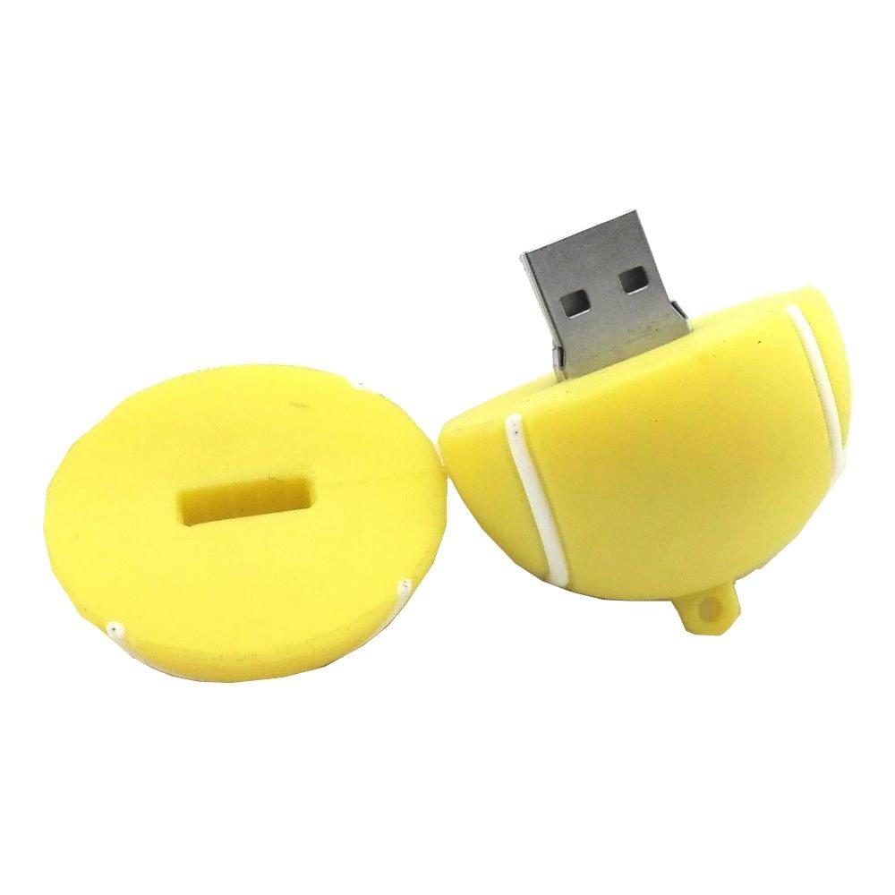 Pelota de tenis de aneew 16 GB pendrive USB Flash Drive de memoria ...