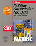 Building Construction Cost Data, 2000 9780876295519