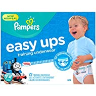 Pampers Boys Easy Ups Training Underwear, 3T-4T (Size...