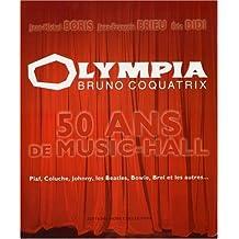Olympia bruno coquatrix -50 ans..