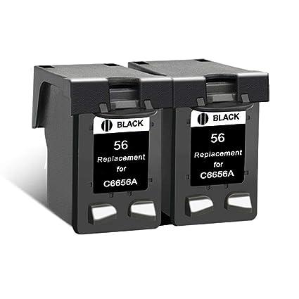 KA - Cartuchos de Tinta remanufacturados HP 56XL 57XL para HP ...