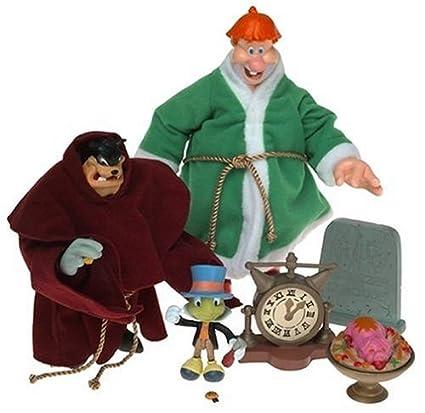Mickeys Christmas Carol Pete.Christmas Carol 3 Ghost Action Figure Box Set