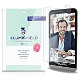 iLLumiShield - Blackberry Z30 Anti-Glare Matte Screen Protector HD Clear Film / Anti-Bubble & Anti-Fingerprint / Premium Invisible Crystal Shield – Free Warranty – [3-Pack] Retail Packaging