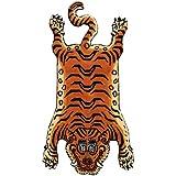 チベタンタイガーラグ Xラージ DTTR-01 DETAIL Tibetan Tiger Rug [XLサイズ]