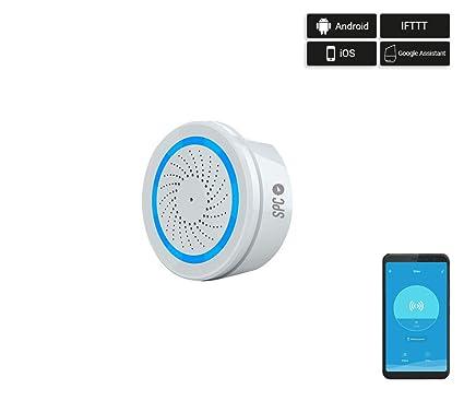 SPC Sonus - Sirena Alarma Inteligente Wi-Fi Compatible con ...