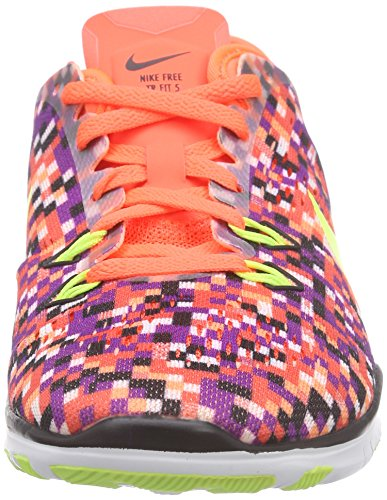 Nike Frauen Free 5.0 Tr Fit 5 Prt Trainingsschuh Frauen US Orange
