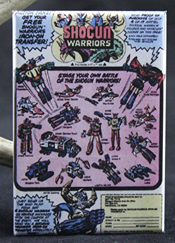 Shogun Warriors Vintage Comic Book Ad Refrigerator for sale  Delivered anywhere in USA