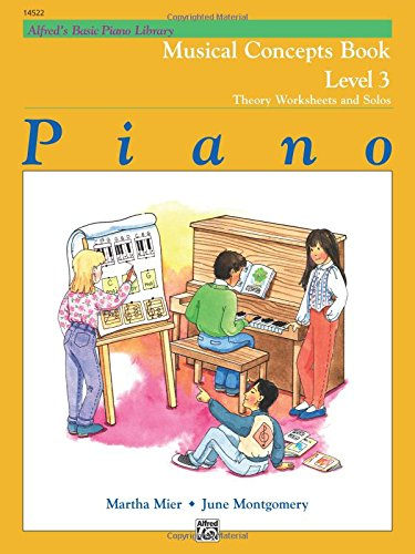 Alfred's Basic Piano Library Musical Concepts, Bk 3