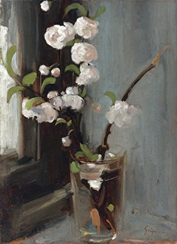 Apple Blossoms : Nicolae Grigorescu : circa 1868 : Romanian Painting Art Print