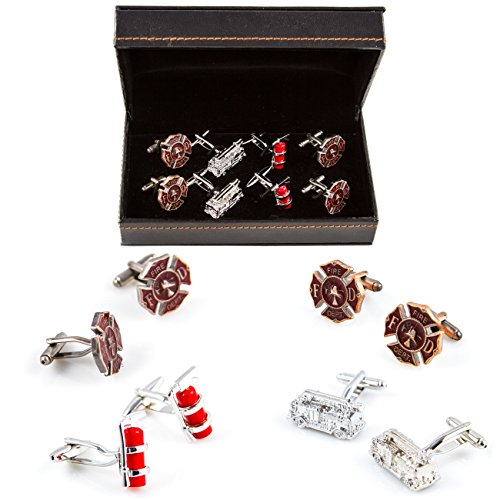 MRCUFF Department Extinguishers Cufflinks Presentation product image