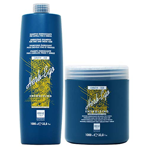 Ever Ego Herb Ego Energizing Shampoo + Mask 33.8oz