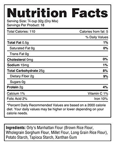 Premium Gluten Free Pastry Flour | Gluten Free Donut Flour - Baking Flour for Gluten Free Challah Bread, GF Brioche Bread, GF Cinnamon Roll, GF Bagels from Manhattan Blends by Orly 120 OZ (Pack of 6) by Blends By Orly (Image #3)