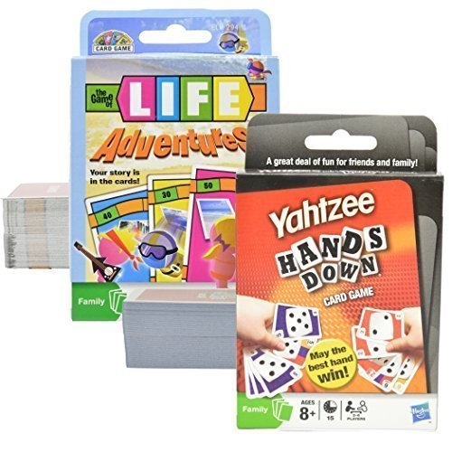 Game Of Life Card Games - Yahtzee and Game of Life - Card Games