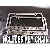 Mercedes Benz Chrome License Plate Frame (metal)