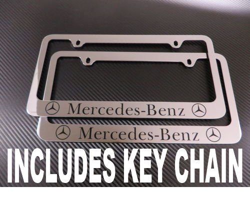 mercedes benz frame license plate - 6