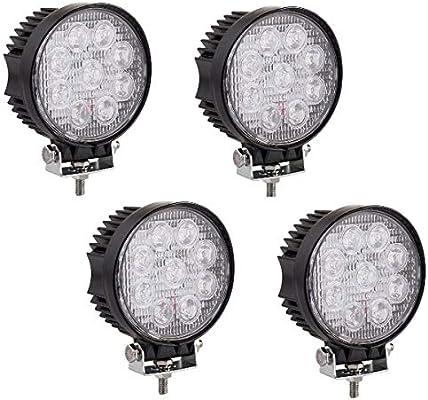 4 Stück Teile Starke Rund 12V 24V Led Arbeits Lampe Scheinwerfer