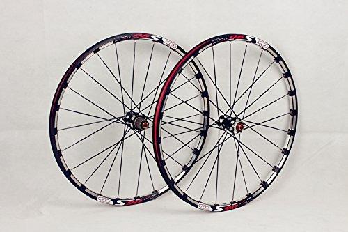 MTBマウンテンバイク自転車26インチCNC合金リムカーボンハブホイールホイールセットリム B075QX5T8X