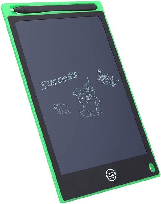 8.5インチ手書き耐久性のあるグラフィティツール厚い描画ボード、勉強している子供のため(green)