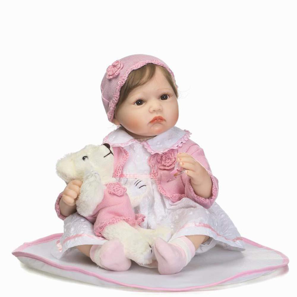 descuento online Reborn Baby Doll Simulación de Silicona Suave Reborn Reborn Reborn Baby Girl 22 Pulgadas Lindo Beibei Muñeca Regalo de Juguete de los niños  Ven a elegir tu propio estilo deportivo.