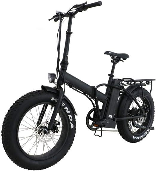 WXJWPZ Bicicleta Eléctrica Plegable 20 * 4.0 48V500W Neumático ...