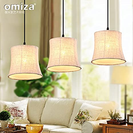 RLYYBE Lámpara colgante Vintage y moderno y rústico LED ...
