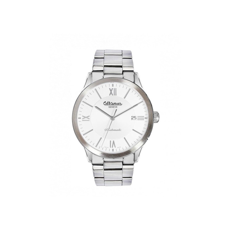 Uhren mÄnnlich Stahlband und weißem Zifferblatt Altanus 7938B