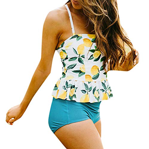 Chiccc Women High Waist Bikinis Swimwear Swimuit Female Retro Beachewear Bikini SetWomen Summer Casual T Shirt Dresses Beach Cover up